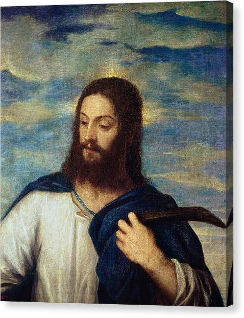 Apparition Canvas Print - The Savior by Titian