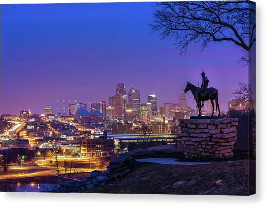 The Scout Canvas Print