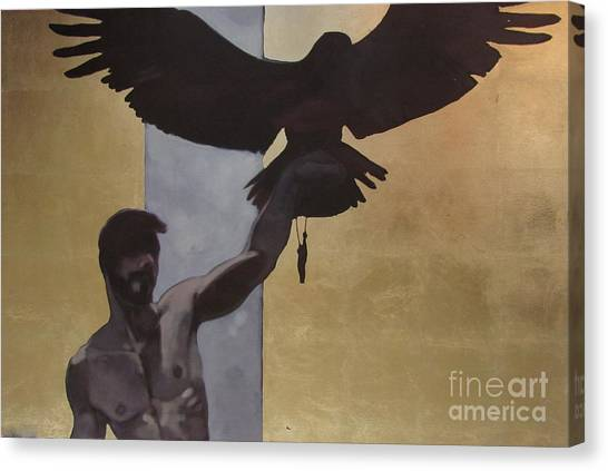 Eagle Scout Canvas Print - The Scout by Jakub Godziszewski