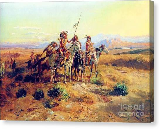 The Scouts Canvas Print