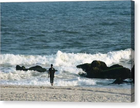 The Sea  Canvas Print by Paul SEQUENCE Ferguson             sequence dot net