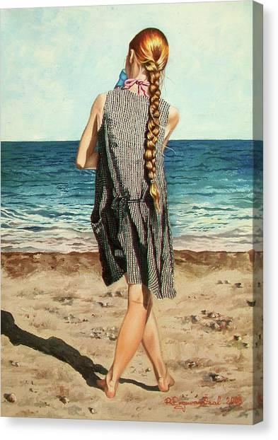 The Secret Beauty - La Belleza Secreta Canvas Print
