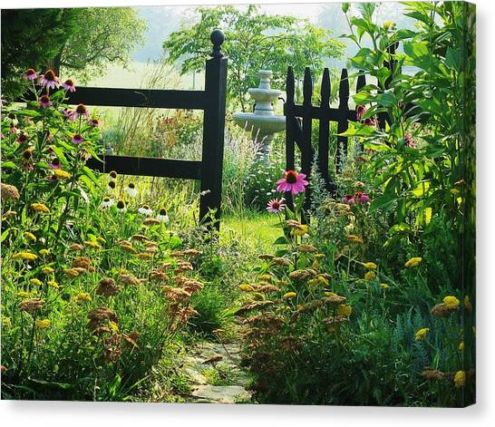 The Secret Garden Canvas Print by Joyce Kimble Smith