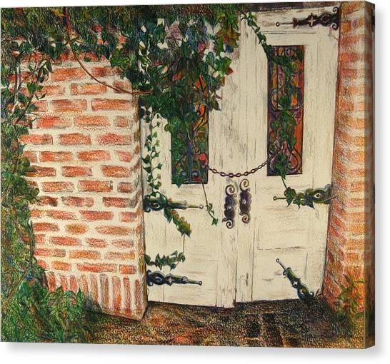 The Secret Garden Canvas Print by Lois Guthridge