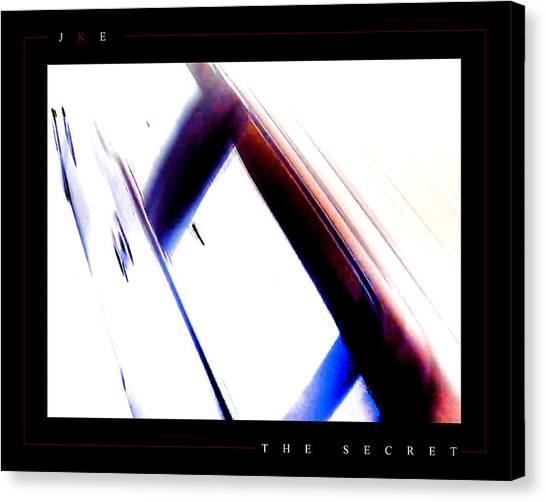 The Secret Canvas Print by Jonathan Ellis Keys
