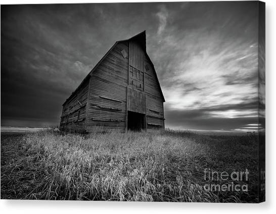Saskatchewan Canvas Print - The Sentinel by Ian McGregor