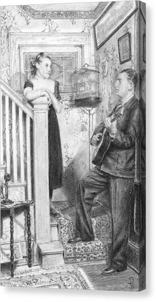 The Serenade Canvas Print by Douglas Kochanski