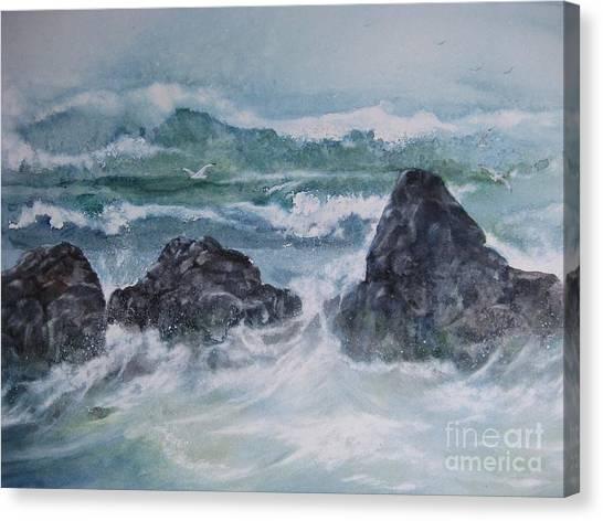 The Shallow Break Canvas Print