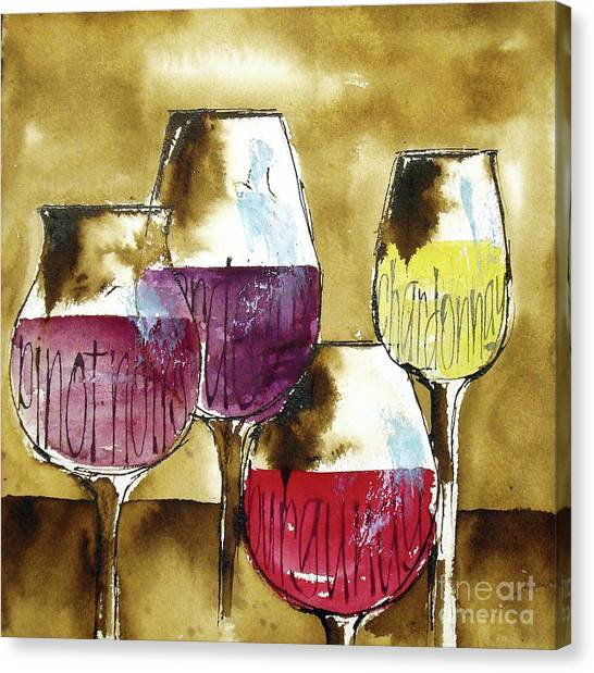 Canvas Print - The Shape Of Wine 2 by Chris Paschke