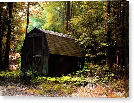 The Shed Canvas Print