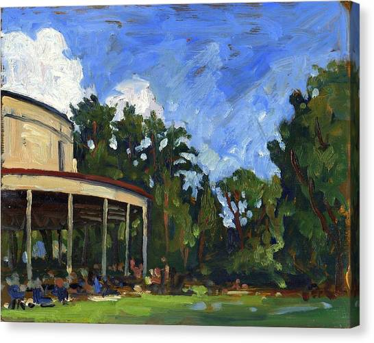 The Shed Tanglewood Canvas Print