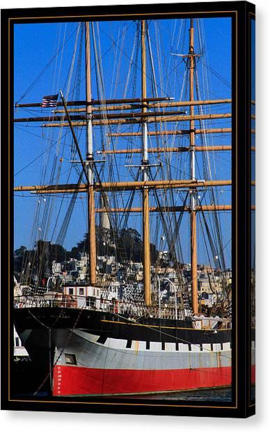 The Ship Balclutha Canvas Print