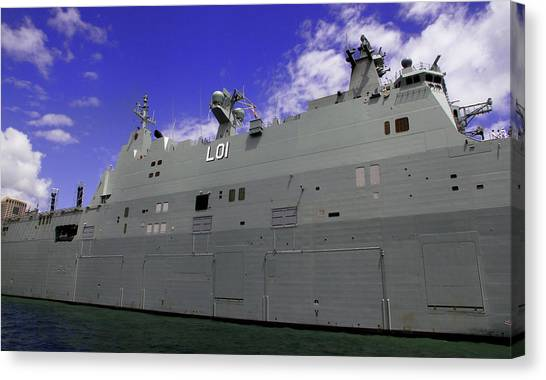 The Ship Is Huge Canvas Print