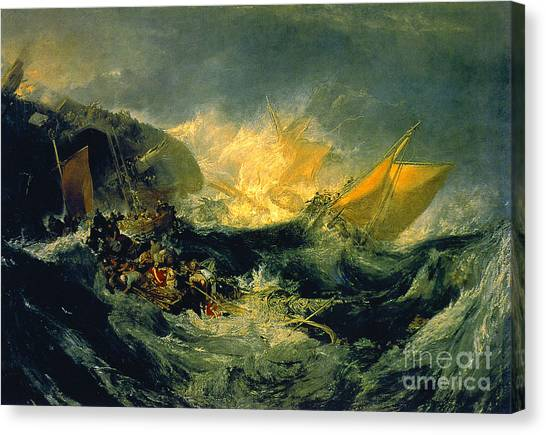 Minotaurs Canvas Print - The Shipwreck Of The Minotaur by MotionAge Designs
