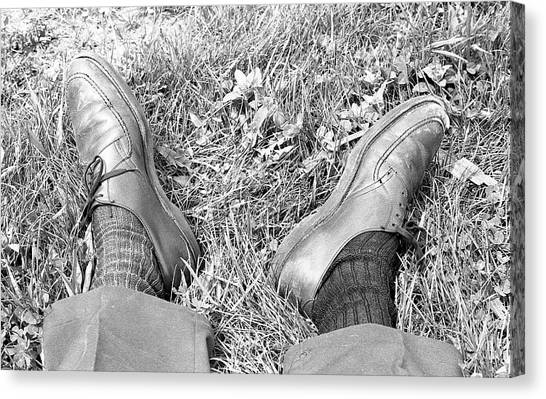The Shoes Of A Teaching Assistant, 1979 Canvas Print
