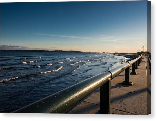 The Shore Line Canvas Print
