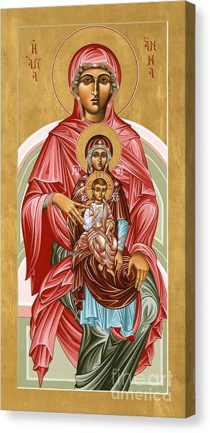 The Shrine Of St Anne 058 Canvas Print