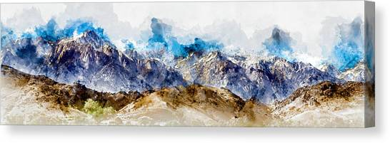 The Sierras Canvas Print