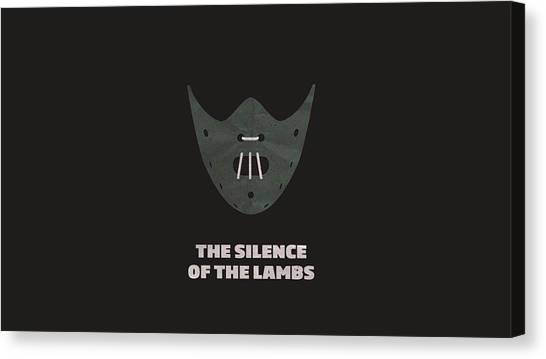 Silence Of The Lambs Canvas Print - The Silence Of The Lambs by Dorothy Binder