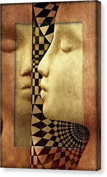 The Silent Window Canvas Print