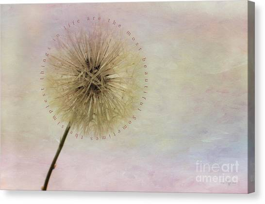 The Simplest Things Canvas Print