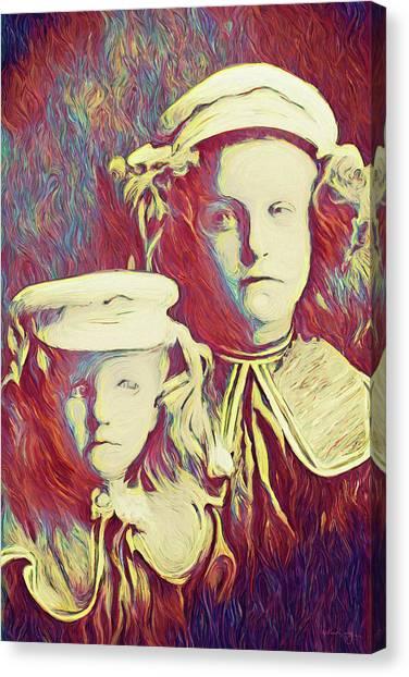 The Sisters Savage Canvas Print