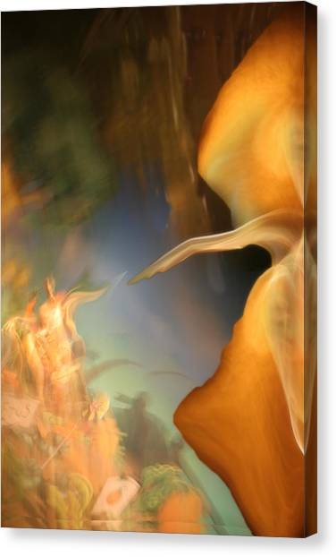 The Sixth Day Canvas Print by Fred Pauli