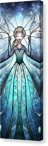 The Snow Queen Canvas Print