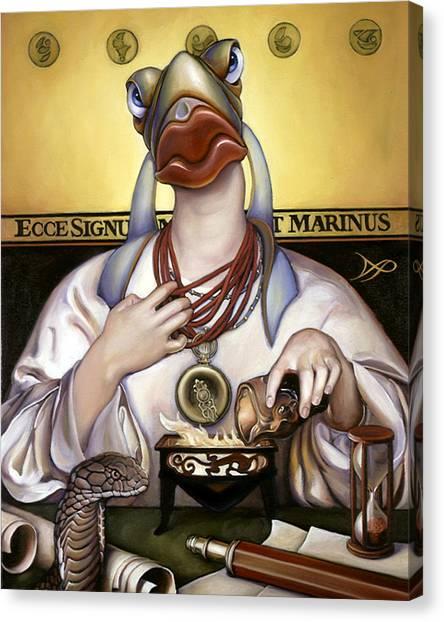 Patrick Canvas Print - The Sorceress by Patrick Anthony Pierson