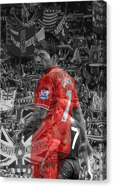 Liverpool Fc Canvas Print - The Sourcerers Apprentice by Arthouse Liverpool