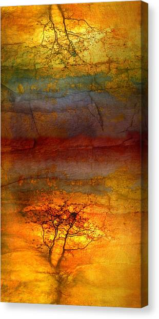 The Soul Dances Like A Tree In The Wind Canvas Print