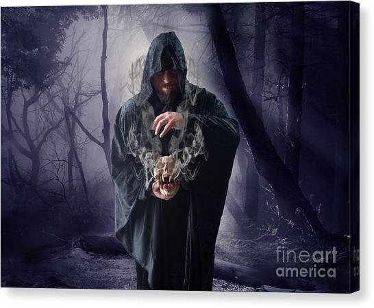 Gothic Art Canvas Print - The Sounds Of Silence by Smart Aviation