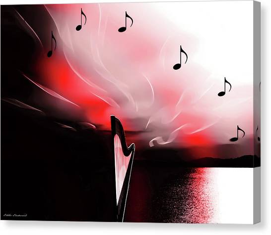 The Sounds Of Sunset Canvas Print