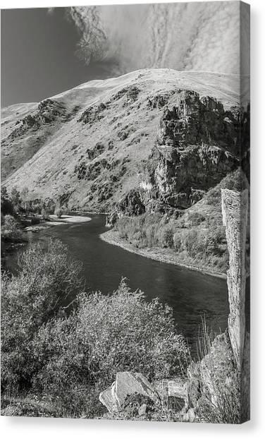 South Fork Boise River 3 Canvas Print