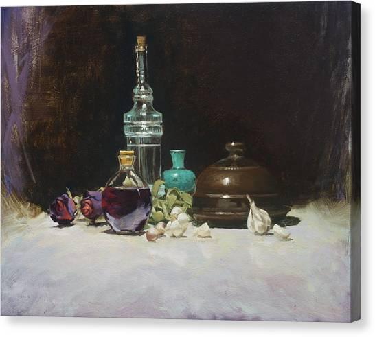 The Spanish Bottle Canvas Print