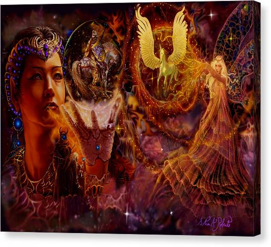 The Spell Masters Canvas Print