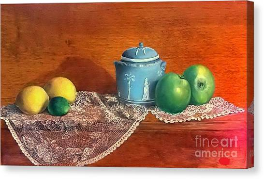 The Spice Jar Canvas Print by Patricia Lang