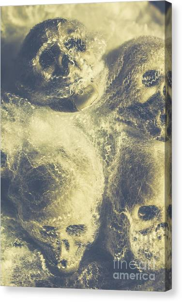Skeletons Canvas Print - The Spiders Torture Chamber by Jorgo Photography - Wall Art Gallery