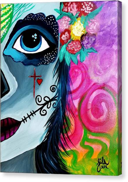 The Spirit Of Jezebel Canvas Print