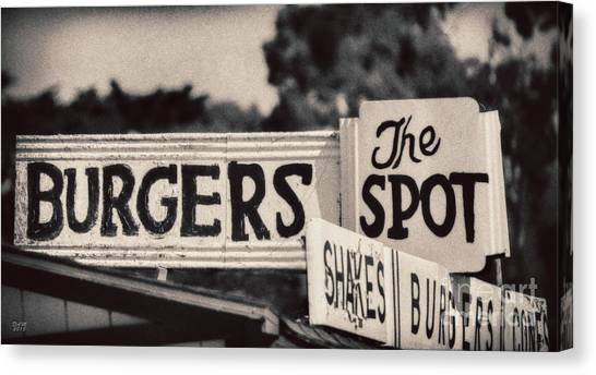 The Spot Canvas Print