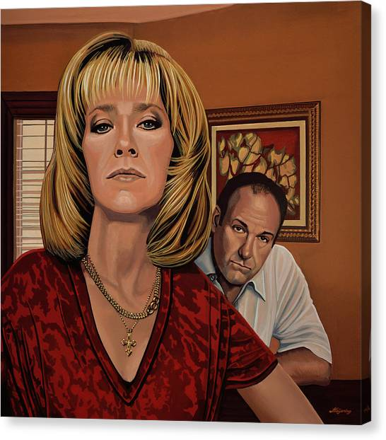 Alabama Canvas Print - The Sopranos Painting by Paul Meijering