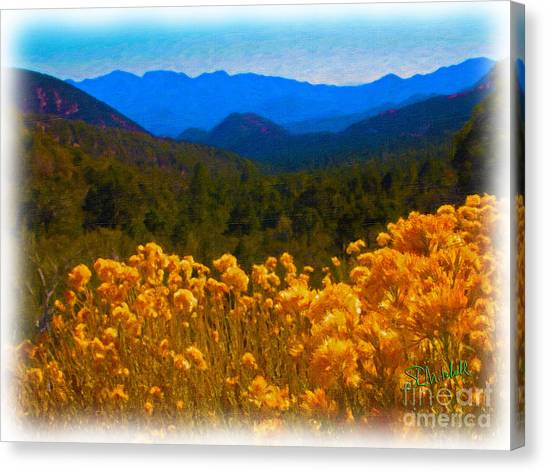 The Spring Mountains Canvas Print