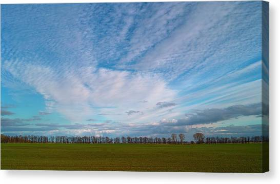 The Springtime Sky. Horytsya, 2010. Canvas Print