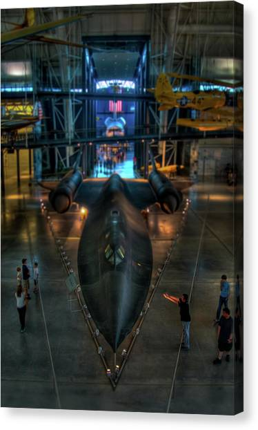 The Sr-71 Canvas Print