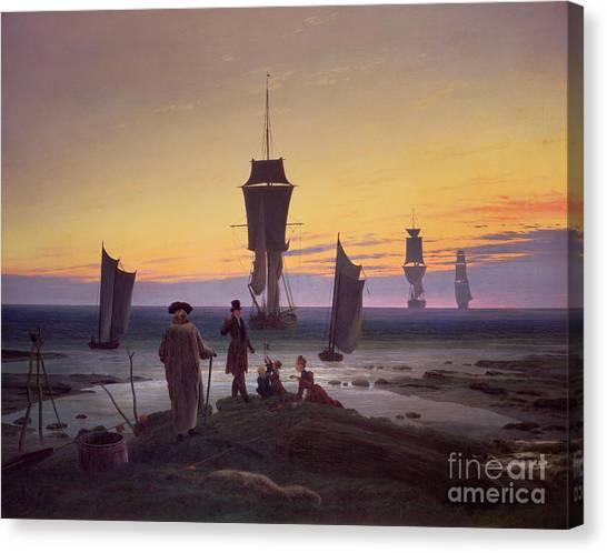 Caspar Canvas Print - The Stages Of Life by Caspar David Friedrich