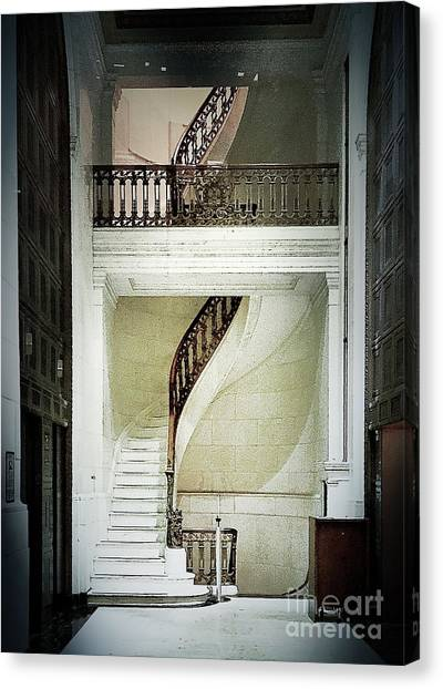 The Staircase Canvas Print