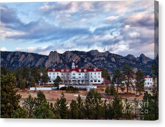 The Stanley Hotel Canvas Print