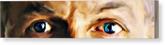 The Stare Canvas Print by Crystal Webb