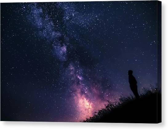 The Stargazer Canvas Print