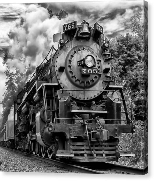The Steam Age  Canvas Print